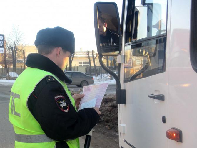 В Жуковском районе пройдут сплошные проверки водителей автобусов