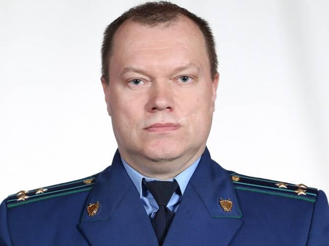 Новозыбковский прокурор Александр Козлов ушел на пенсию