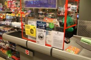 В Брянске поймали без маски продавца «Пятёрочки» на бульваре Гагарина