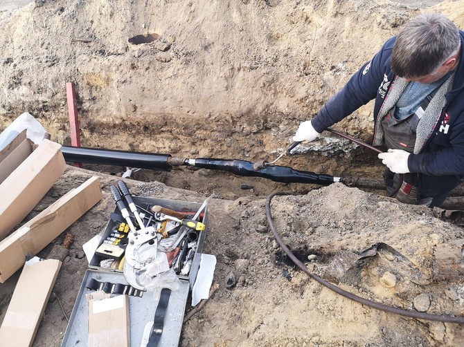 В Брянске жителям микрорайона «Речной» вернули электроснабжение