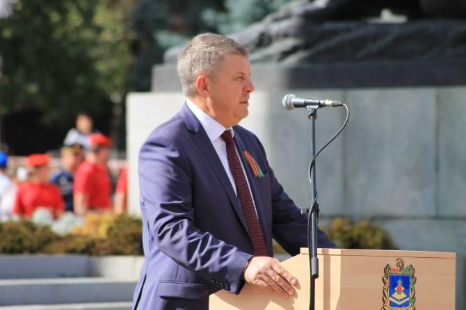 В Брянске инаугурация губернатора Богомаза состоится 22 сентября