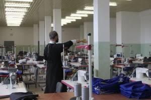В стародубской колонии освятили швейный цех