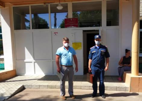 Брянские спасатели проверяют избирательные участки