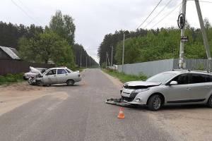 В массовом ДТП под Брянском пострадал 65-летний водитель