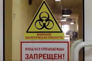 В Брянске 17 беременных находятся в ковидном госпитале областного роддома