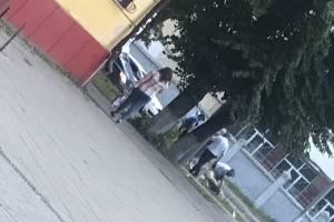 В Брянске на улице Ульянова сотрудники ГИБДД спасли человека