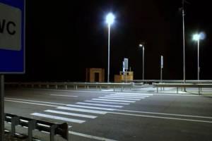 На брянской трассе А-240 отключат освещение