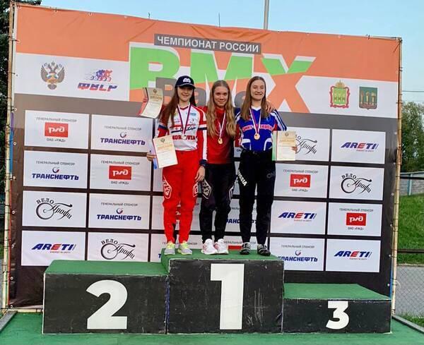Брянская BMX-спортсменка стала лучшей на Первенстве России
