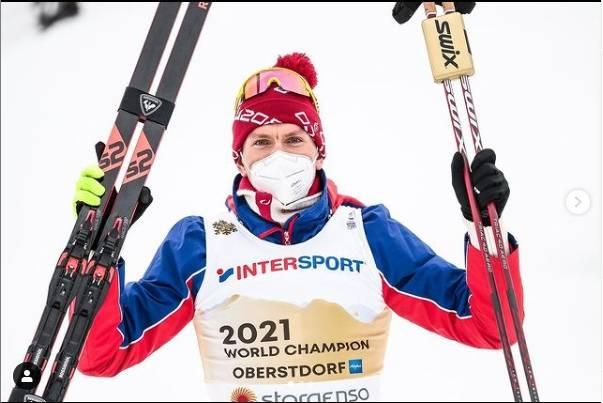 Брянский лыжник Большунов выиграл бронзу в командном спринте