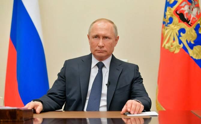 Президент Путин выступит с новым обращением по ситуации с коронавирусом