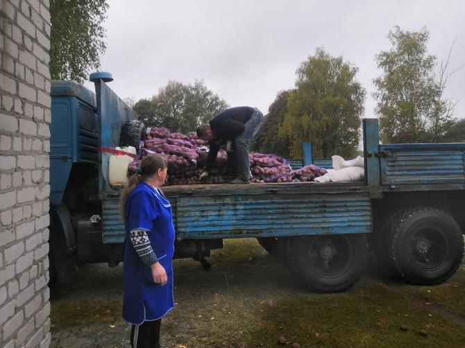 Брянский агрохолдинг поделился урожаем с сельскими школами и детсадами