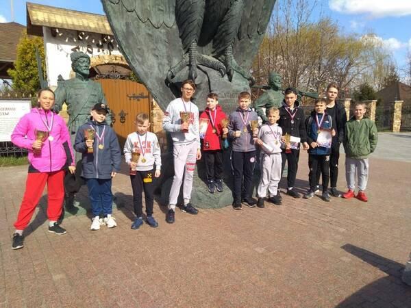 Брасовские спортсмены завоевали 4 золотые медали на турнире по кикбоксингу