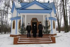 В брянском селе Луговец готовят к открытию храм Николая Чудотворца