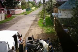В Брянске мусорный бункер на улице Пересвета убрали из-за наглых бизнесменов