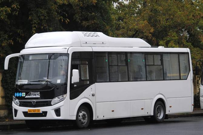 В Брянской области на линии вышли новые газовые автобусы