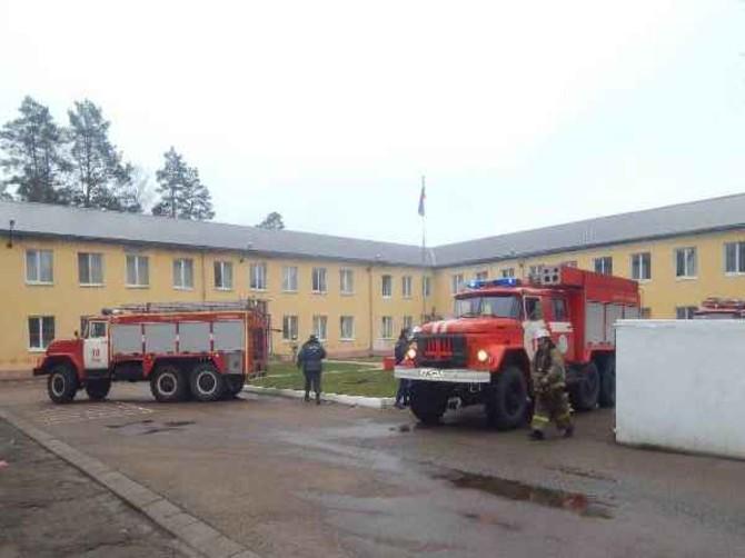 В Сураже эвакуировали колонию-поселение