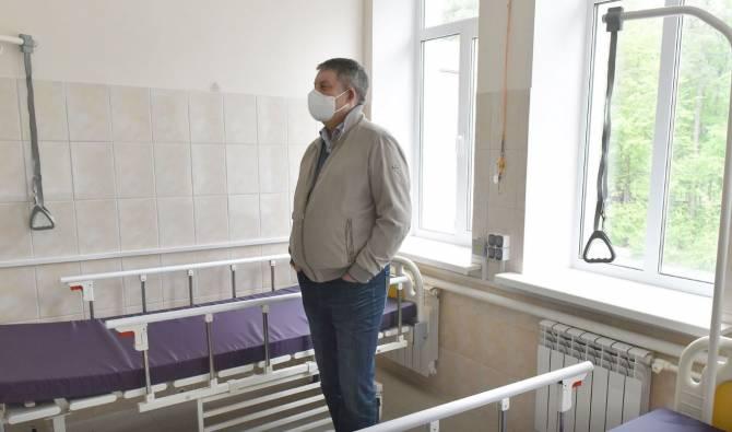 Коронавирусный госпиталь в Унече подготовили за 2 недели