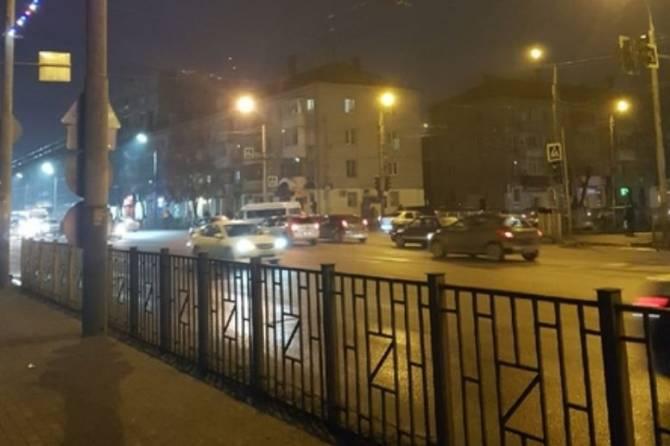 На выезде из Бежицы в Брянске отключился светофор