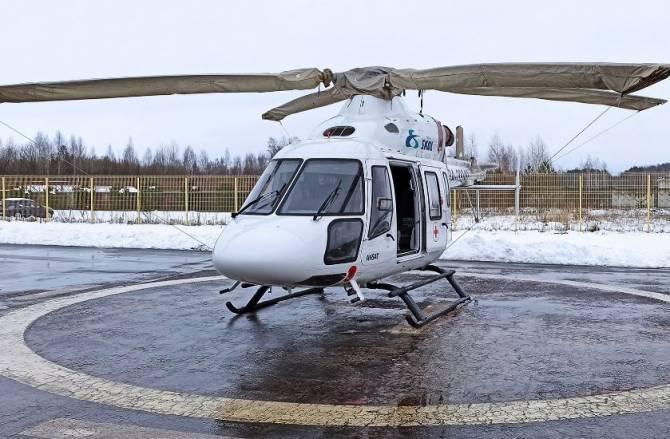 Избитый молодой брянец умер после эвакуации вертолетом