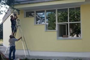 В Унече ремонт детской школы искусств завершат к сентябрю