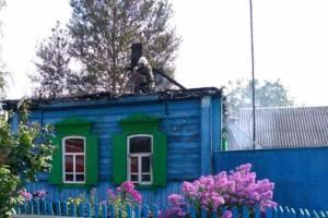 В Климовском районе сгорел жилой дом: есть пострадавший