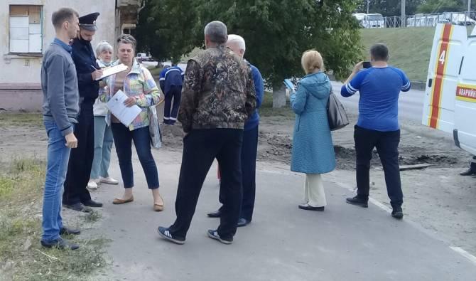 В Брянске во время стрельбы на Московском ранили мужчину