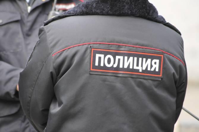 Брянская полиция следит за соблюдением режима самоизоляции