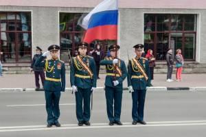 В Брянске проходит репетиция торжественного марша