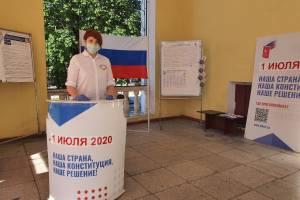 В Брянской области началось голосование по поправкам в Конституцию