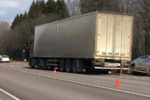 В аварии с разорванной легковушкой под Брянском есть пострадавшие