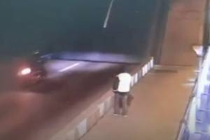 В Питере брянский байкер упал в Неву с разведенного моста и погиб