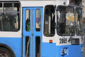 По Брянску ездили поломанные троллейбусы