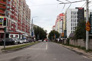 В Брянске отремонтировали улицу Степную