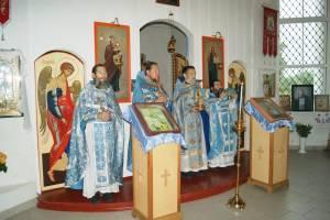 Престольное торжество в брянском храме села Чернетово отметили крестным ходом
