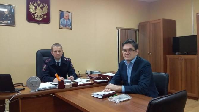 Гендиректор «Чистой планеты» договорился о сотрудничестве с брянской полицией