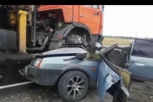 В массовом ДТП на брянской трассе погибли 2 человека