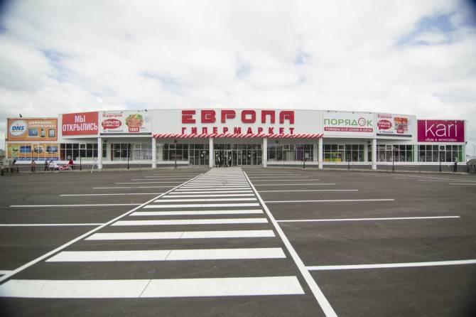 В Брянске без маски поймали покупателя в ТЦ «Европа»