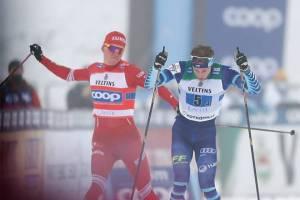 Брянский лыжник Большунов получил испытательный срок за столкновение с финном