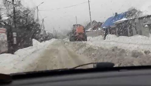После критики в адрес губернатора в Брянске на Малыгина начали чистить снег