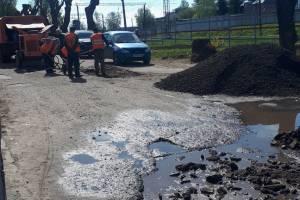 Брянцев поразил ремонт дороги возле переезда в Бежице