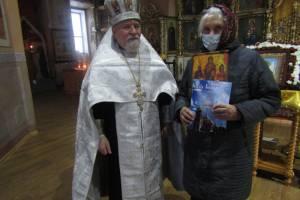 Старейшую прихожанку мглинского храма поздравили с юбилеем