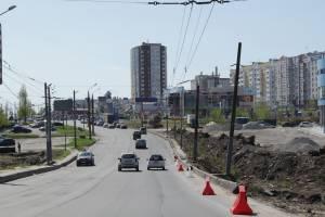 В Брянске от переулка Пилотов до «Аэропарка» обустроят пешеходную зону