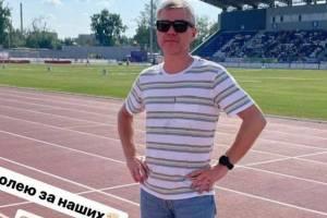 Депутат Госдумы потренировался на новом стадионе в Брянске