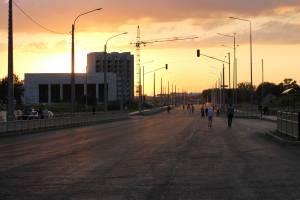 В Брянске установили светофоры на новой дороге по улице Советской