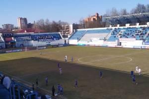 Брянское «Динамо» потерпело домашнее поражение от воронежского «Факела»