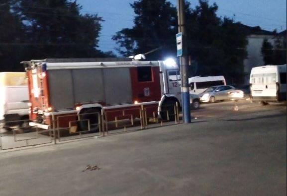 В Бежице в массовом ДТП с маршруткой №49 никто не пострадал