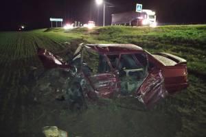 В жутком ДТП под Севском 18-летний парень сломал плечо и бедро