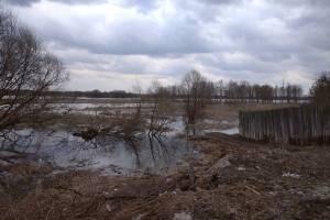 В Брянске подтопило улицы Песчаную и Гончарова