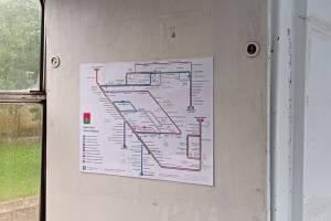 Схема троллейбусных маршрутов готова