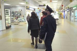 В магазинах Брянска за сутки поймали всего 8 безмасочников